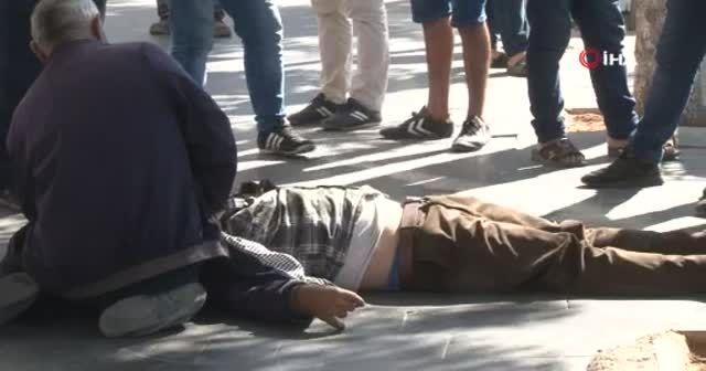 Siirt'te yere yığılan adama koronavirüs şüphesiyle kimse yaklaşamadı