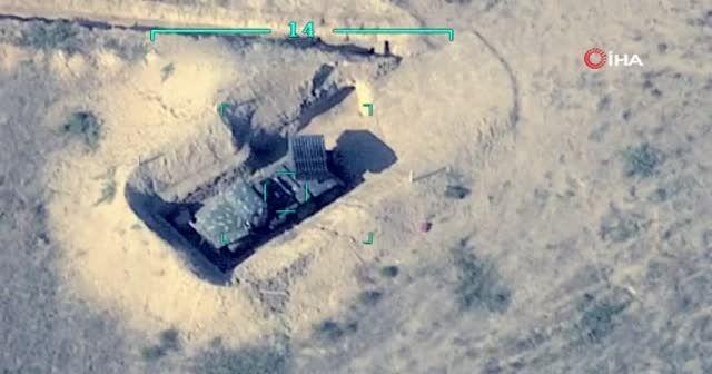 Ağır kayıplar veren Ermeni birlikleri, savunma mevzilerinden kaçtı