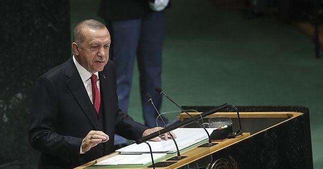 Cumhurbaşkanı Erdoğan konuşacak dünya dinleyecek