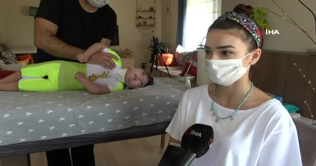 Doktorların '3 ay yaşar' dediği minik Ata, 2,5 yaşında ayaklandı