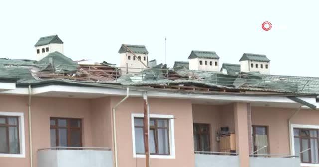 Ermenistan ordusu Terter'de sivil yerleşim bölgesini vurdu