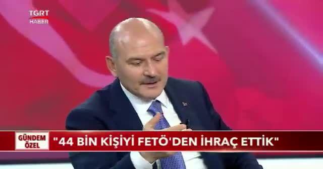 İçişleri Bakanı Süleyman Soylu: FETÖ'den 247 bin soruşturma yaptık