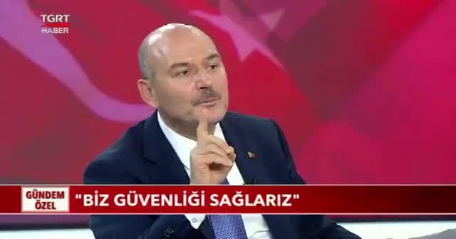 İçişleri Bakanı Süleyman Soylu: Güvenliği sağlarız ama mesele güvenlik değil