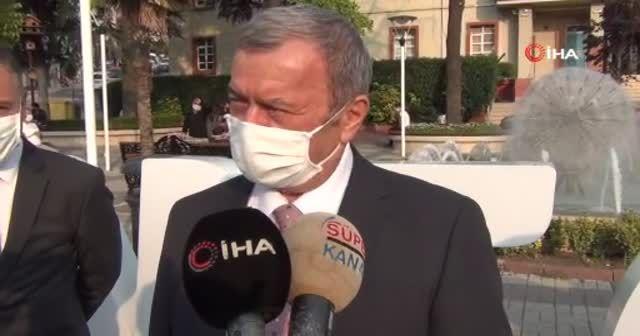 Türkiye'de ilk! Bütün kamu araçları siren çalıp maske mesafe uyarısı yaptı