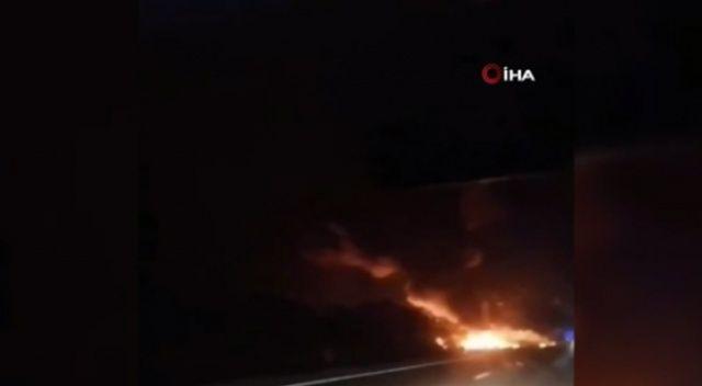 Ukrayna'da askeri nakliye uçağı düştü