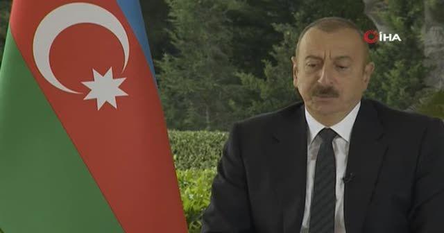 Aliyev: Ermenistan yönetiminin kışkırtıcı açıklamaları, görüşmeleri anlamsız hale getirdi