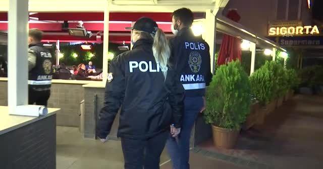 Ankara'da asayiş uygulaması! 750 polis katıldı
