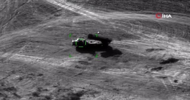 Ermenistan'ın kullandığı 'Smerch' roket atar sistemi yok edildi