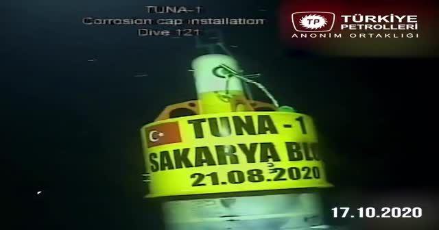 Fatih sondaj gemisi Karadeniz'de gazı böyle buldu