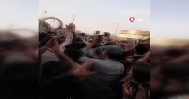 İran'da Azerbaycan'a destek gösterileri başladı