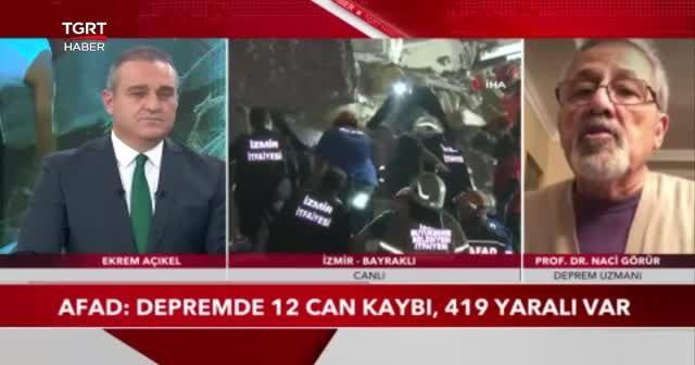Prof. Dr. Naci Görür, İzmir depremi sonrası yeni uyarılarda bulundu