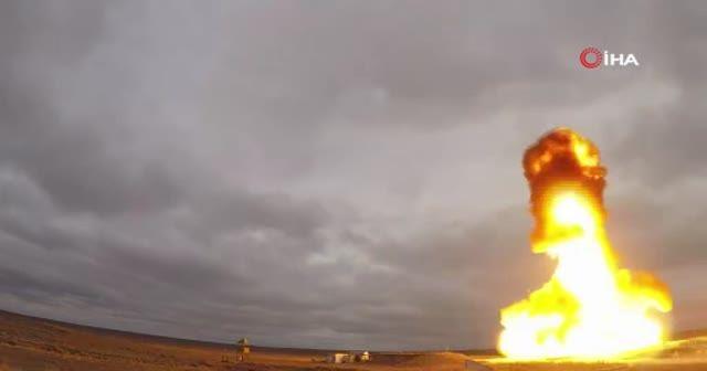 Rusya adını açıklamadığı yeni füze sistemini Kazakistan'da test etti
