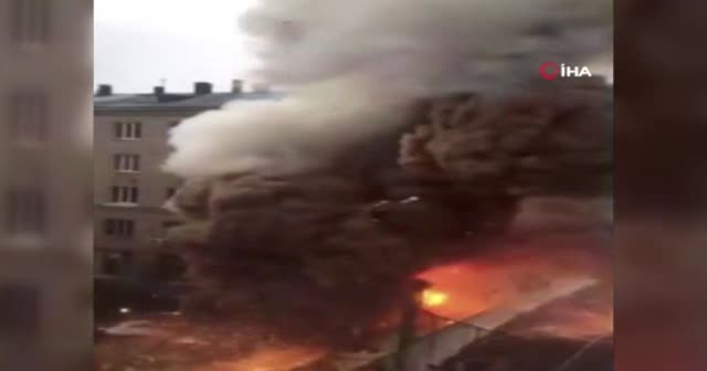 Rusya'da şiddetli patlama!