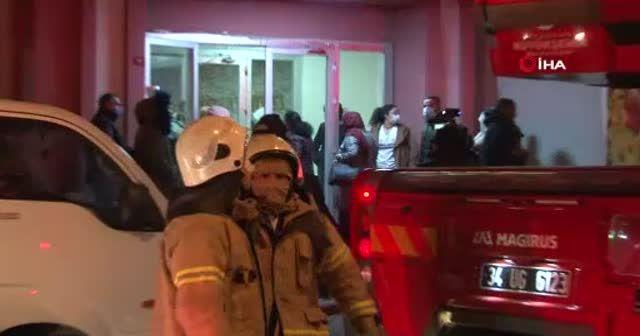 30 katlı binanın 12'nci katında yangın paniği