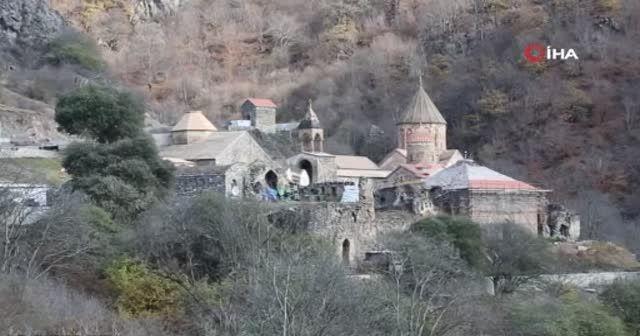 Ermenistan işgalinden kurtarılan Veng köyü görüntülendi