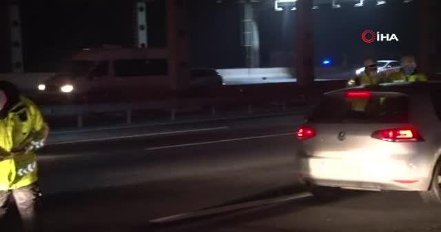 Kısıtlamaya 2 saat kala İstanbul'da trafik yoğunluğu yüzde 81'lere çıktı