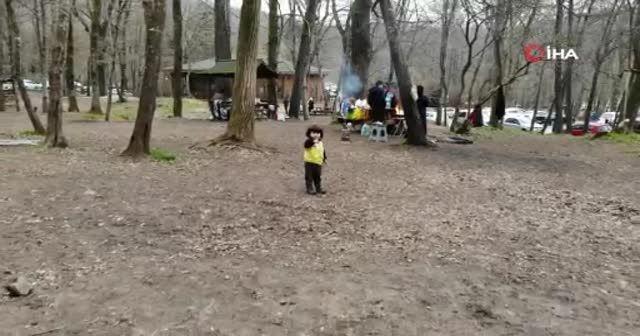 Belgrad Ormanı'nda aylar sonra piknik yoğunluğu