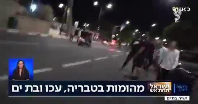 Filistinli olduğu zannedilen şoförü Yahudiler linç etti