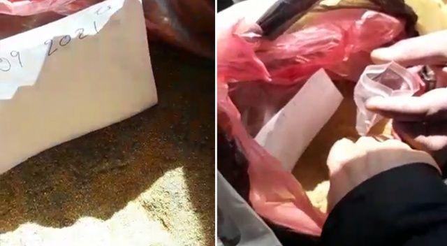 Pirinç tozunu toz altın diye satmaya çalıştılar