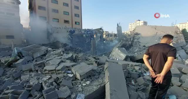 Ulusal İslam Bankası, İsrail'in saldırısı nedeniyle kullanılmaz hale geldi